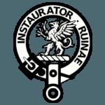Clan Forsyth Badge - Corrected Motto 250x250