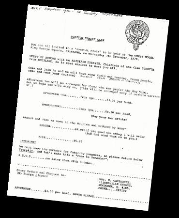 Clan Forsyth Meeting 1979 370x450