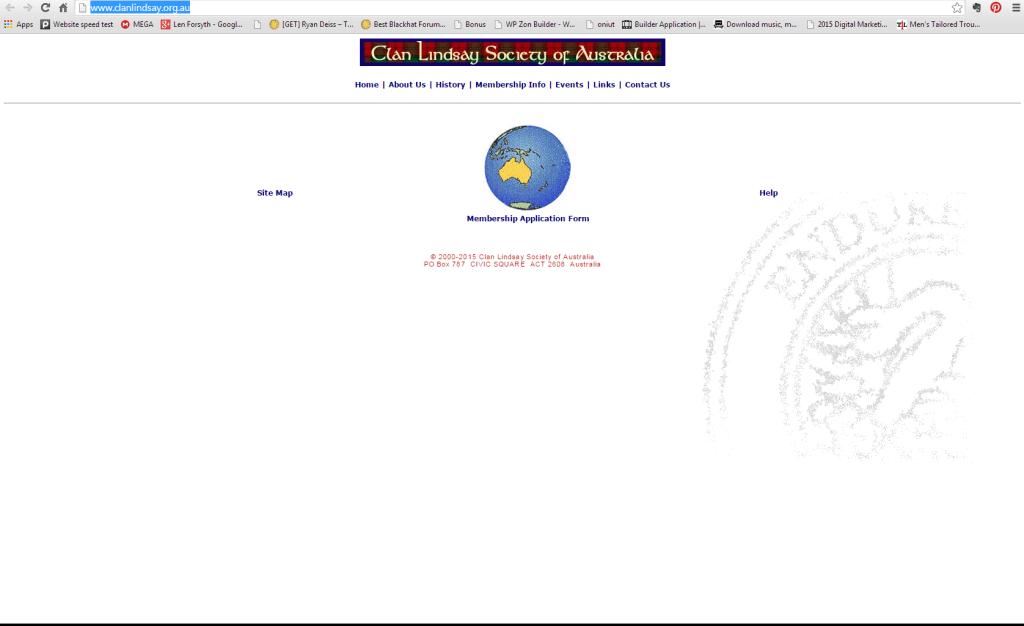 Clan Lindsay Australia - Home Page