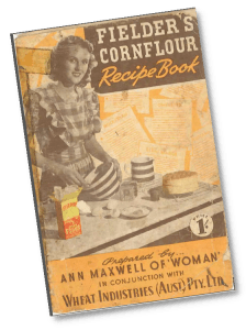Flieders Cornflour Recipe Book Cover 750x560