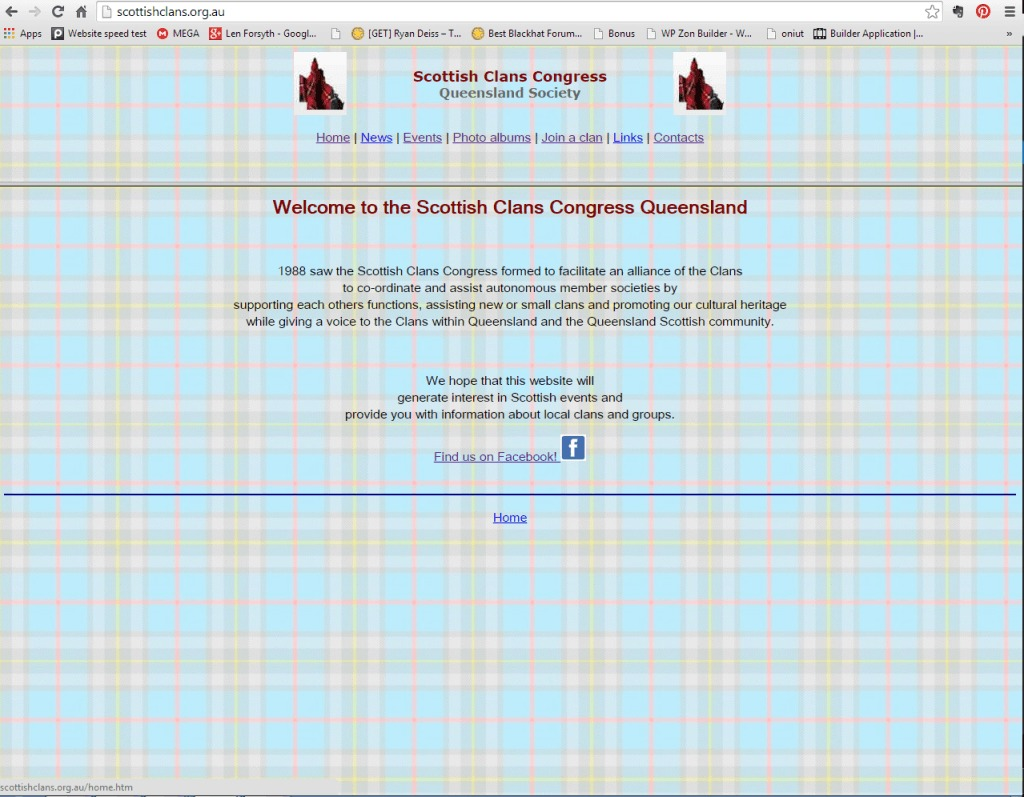 Scottish Clan Congress Qld Home Page